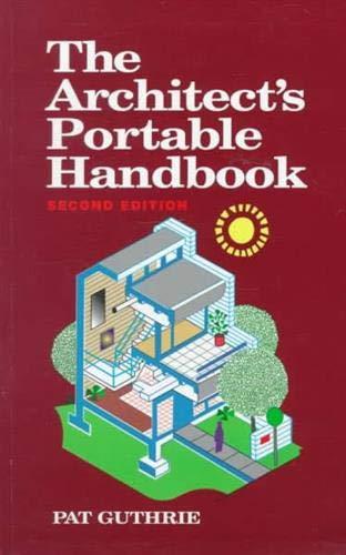 9780070253025: The Architect's Portable Handbook