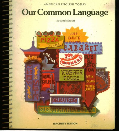 9780070253285: Teacher's Manual And Answer Key: American English Today; Our Common Language 8