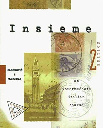 9780070254695: Insieme: An Intermediate Italian Course (Student Edition)