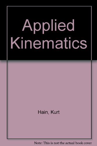 9780070255234: Applied Kinematics, 2nd Edition
