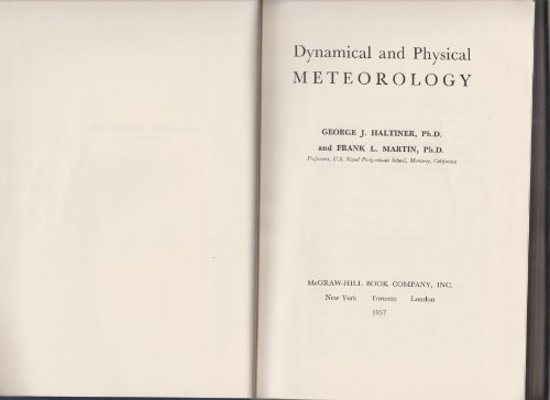 9780070256408: DYNAMICAL AND PHYSICAL METEOROLOGY