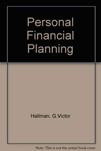 9780070256453: Personal Financial Planning