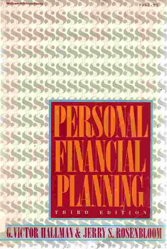 9780070256477: Personal Financial Planning