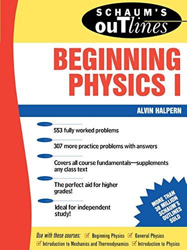 9780070256538: Schaum's Outline of Beginning Physics I: Mechanics and Heat (Schaum's)