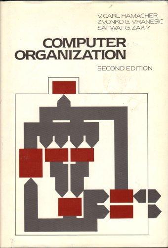 9780070256835: Computer organization (McGraw-Hill series in computer organization and architecture)