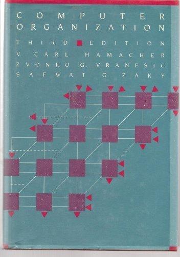 9780070256859: Computer Organization (McGraw-Hill computer science series)
