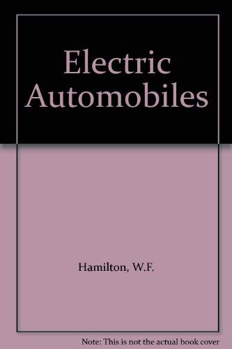 9780070257351: Electric Automobiles