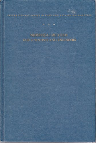 9780070258877: Numerical Methods for Scientists and Engineers (Pure & Applied Mathematics)