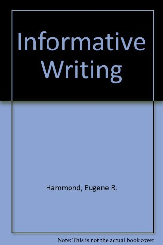 Informative Writing: Hammond, Eugene