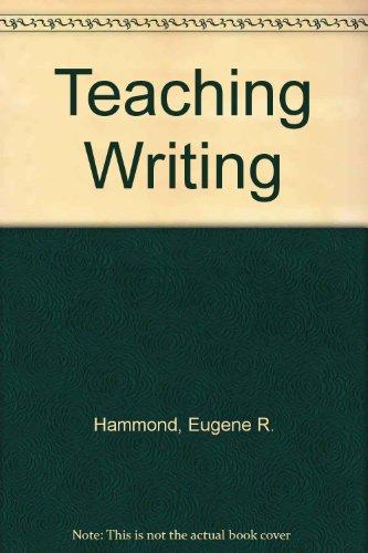 9780070258938: Teaching Writing
