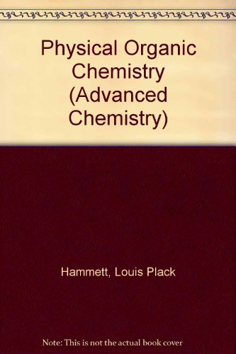 9780070259058: Physical Organic Chemistry (Advanced Chemistry)