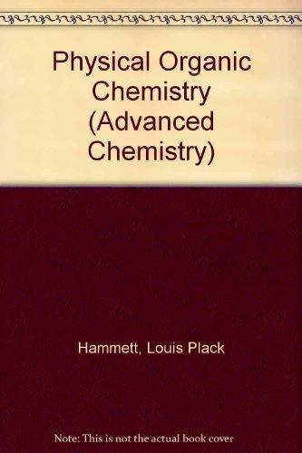 9780070259058: Physical Organic Chemistry (2nd ed.)