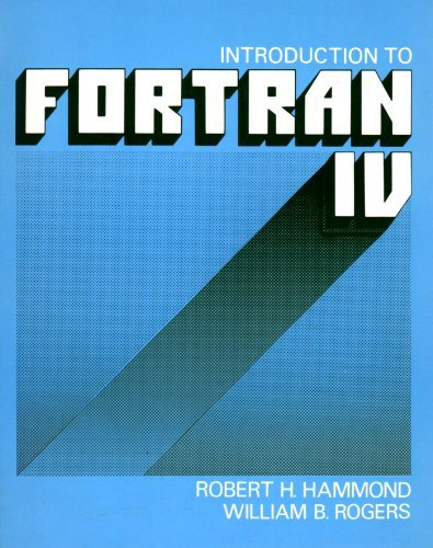9780070259089: Introduction to Fortran IV