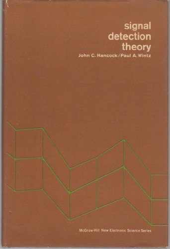 9780070259829: Signal Detection Theory