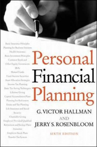 9780070260313: Personal Financial Planning