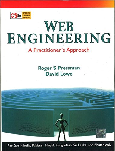 Web Engineering: A Practitioner?s Approach (SIE): David Lowe,Roger S. Pressman