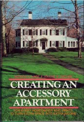 9780070260870: Creating an Accessory Apartment