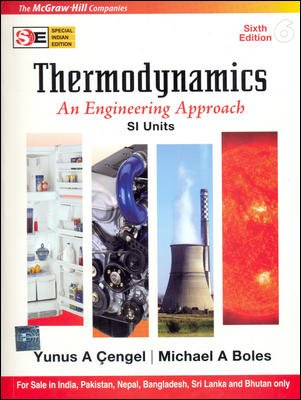 9780070262171: Thermodynamics: An Engineering Approach 7/e SI Unit