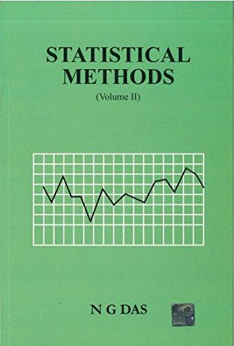 Statistical Methods, Vol  II