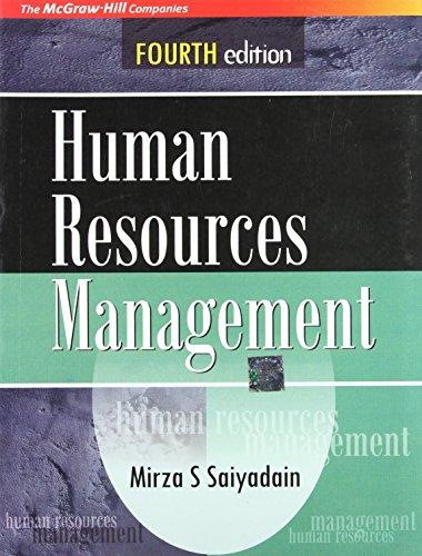 9780070263635: Human Resources Management 4E