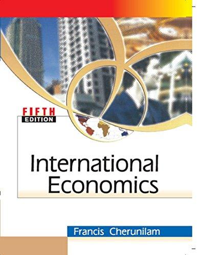 9780070263642: International Economics 5th Edition