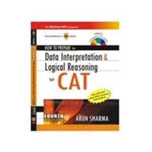 9780070264175: How to prepare for Data Interpretation & Logical Reasoning for the CAT(with free CD)