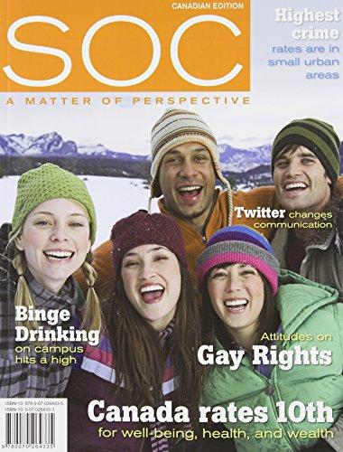 9780070264335: SOC Canadian Edition