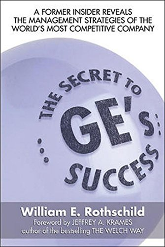 9780070264557: The Secret to GE's Success
