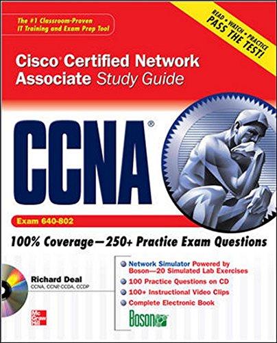 9780070264816: [CCNA Cisco Certified Network Associate Study Guide: Exam 640-802] [by: Richard Deal]