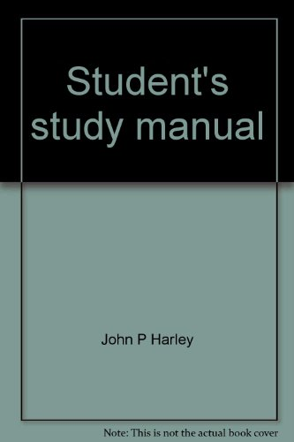 9780070264861: Student's study manual: To accompany Carola, Harley, and Noback Human anatomy and physiology