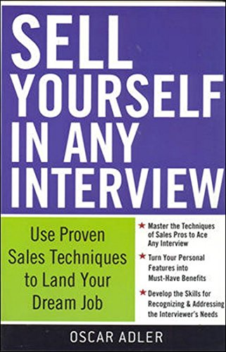 9780070264922: Sell Yourself in Any Interview 1ED
