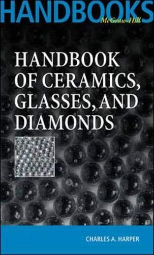 9780070267121: Handbook Of Ceramics Glasses, and Diamonds