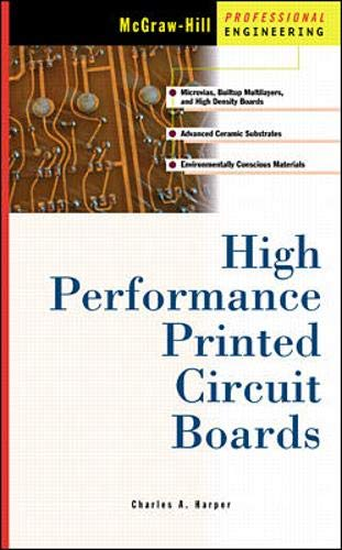 9780070267138: High Performance Printed Circuit Boards