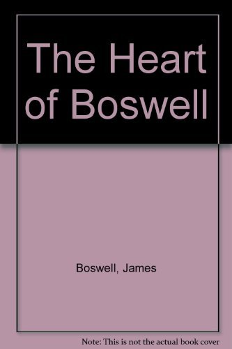 9780070267787: The Heart of Boswell
