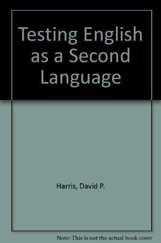 9780070267954: Testing English As a Second Language