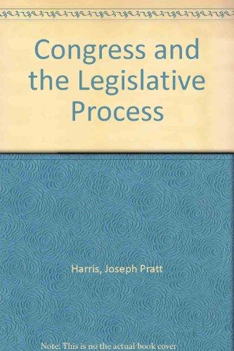 9780070268227: Congress and the Legislative Process