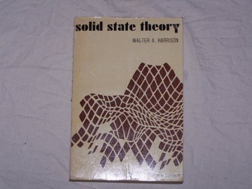 9780070268357: Solid State Theory