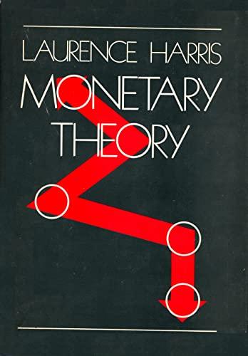 9780070268401: Monetary Theory (Economics handbook series)