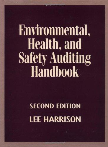 9780070269040: Environmental, Health and Safety Auditing Handbook