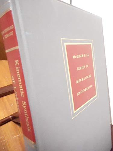 Kinematic Synthesis of Linkages: Hartenberg, Richard S. & Jacques Denavit