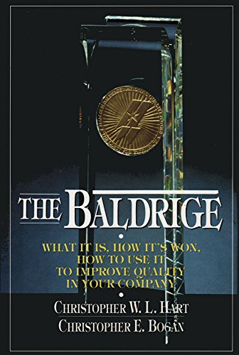 9780070269125: The Baldrige: What It Is, How It's Won, How to Use It to Improve Quality in Your Company