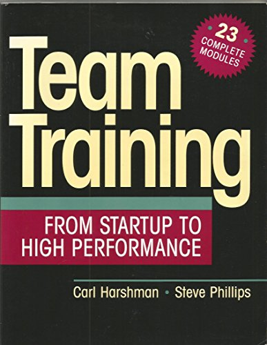 9780070269255: Team Training from Startup to High Performance
