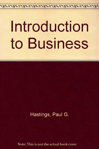 9780070270206: Introduction to Business