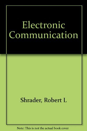 9780070271357: Electronic Communication