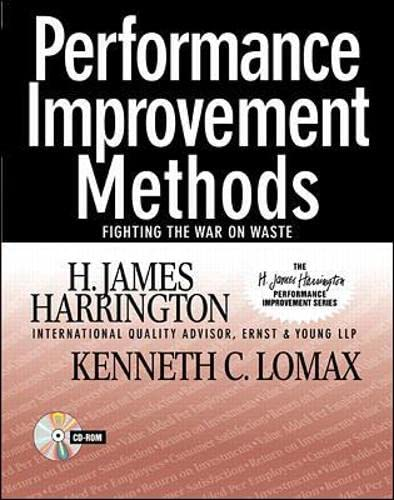 9780070271418: Performance Improvement Methods: Fighting the War on Waste