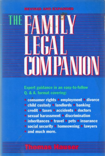 9780070272163: The Family Legal Companion