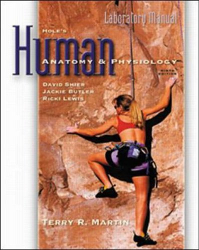 9780070272477: Laboratory Manual to accompany Hole's Human Anatomy and Physiology