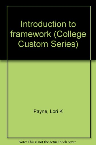 9780070273085: Introduction to framework (College Custom Series)