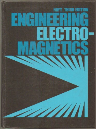 9780070273900: Engineering electromagnetics (McGraw-Hill electrical and electronic engineering series)