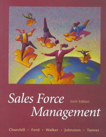 9780070275553: Sales Force Management (The Irwin/Mcgraw-Hill Series in Marketing)